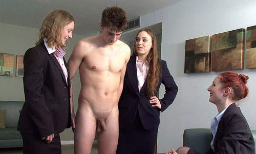 Office Cock Humiliation